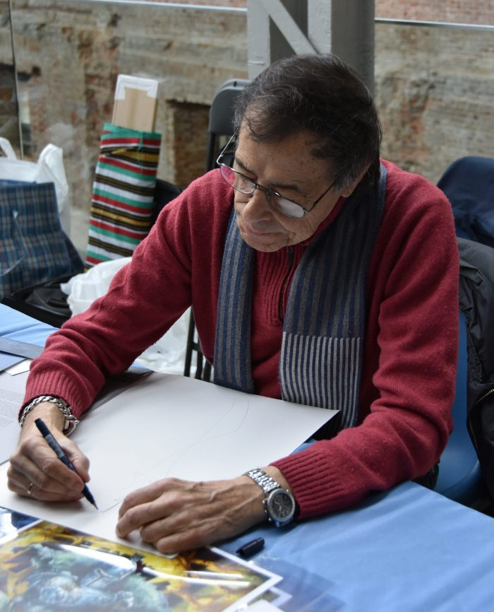 Alfonso Azpiri, en RetroMadrid 2017